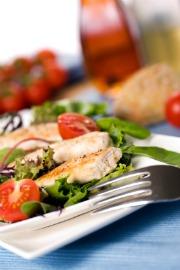 hypoglycemia diet, picture of chicken salad