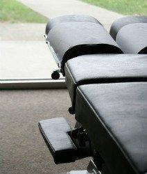 chiropractic and fibromyalgia, chiropractor table