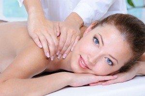 fibromyalgia massage, woman being massaged